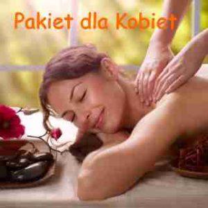 masaż dla kobiet z napisem